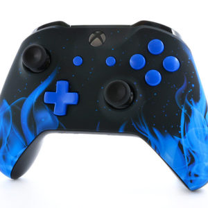 Blue Flame Xbox One S