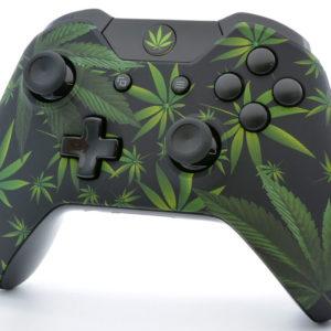 Weed Leaf Xbox One S