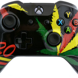 420 Weed Xbox One S Controller