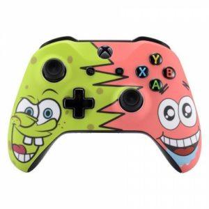 Spongebob and Patrick Xbox One S
