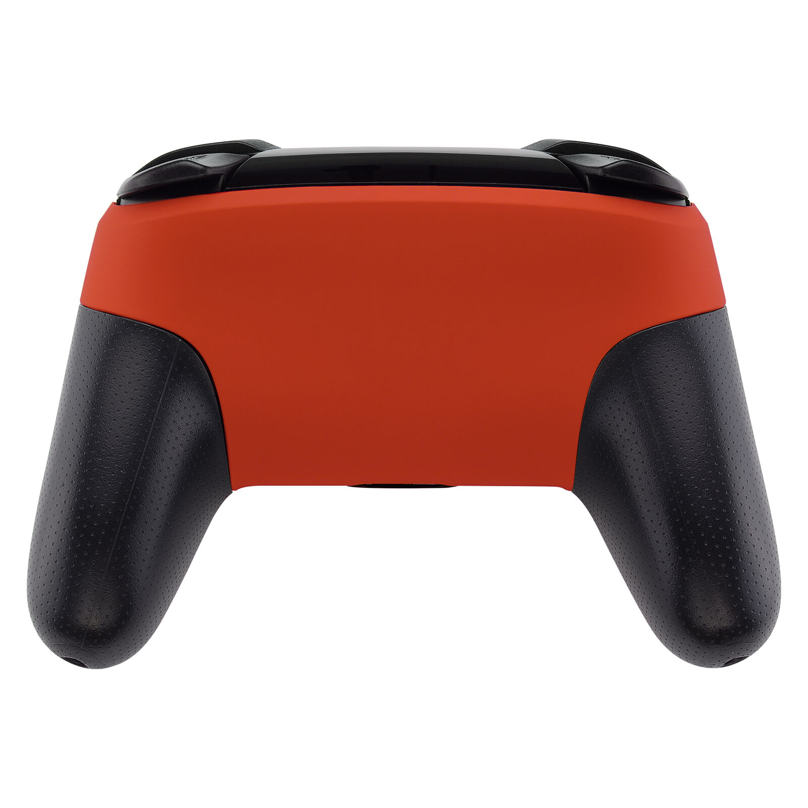 Nintendo Switch Pro Controller Black and Matte Orange Faceplate