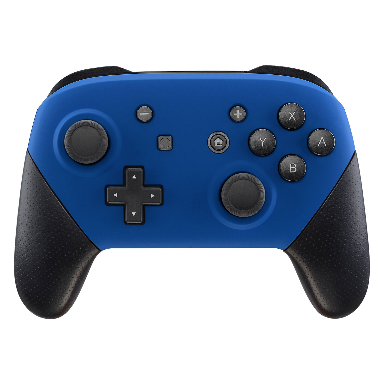 Nintendo Switch Pro Controller Black and Matte Blue Faceplate