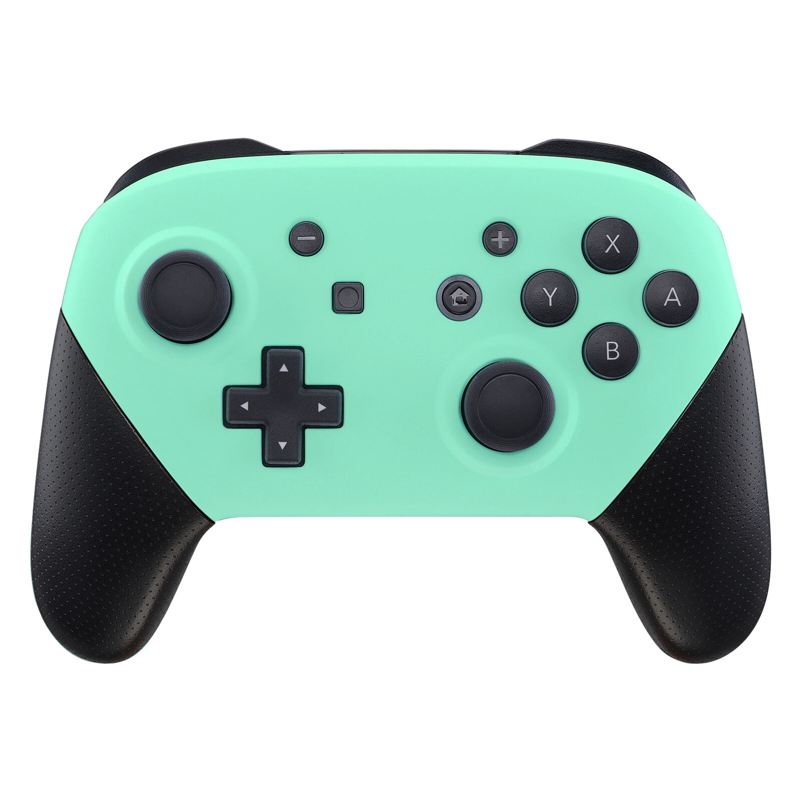 Nintendo Switch Pro Controller Black and Mint Green Faceplate