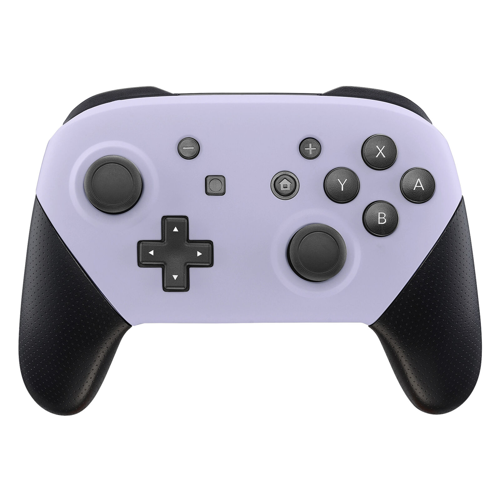Nintendo Switch Pro Controller Black and Lavender Faceplate