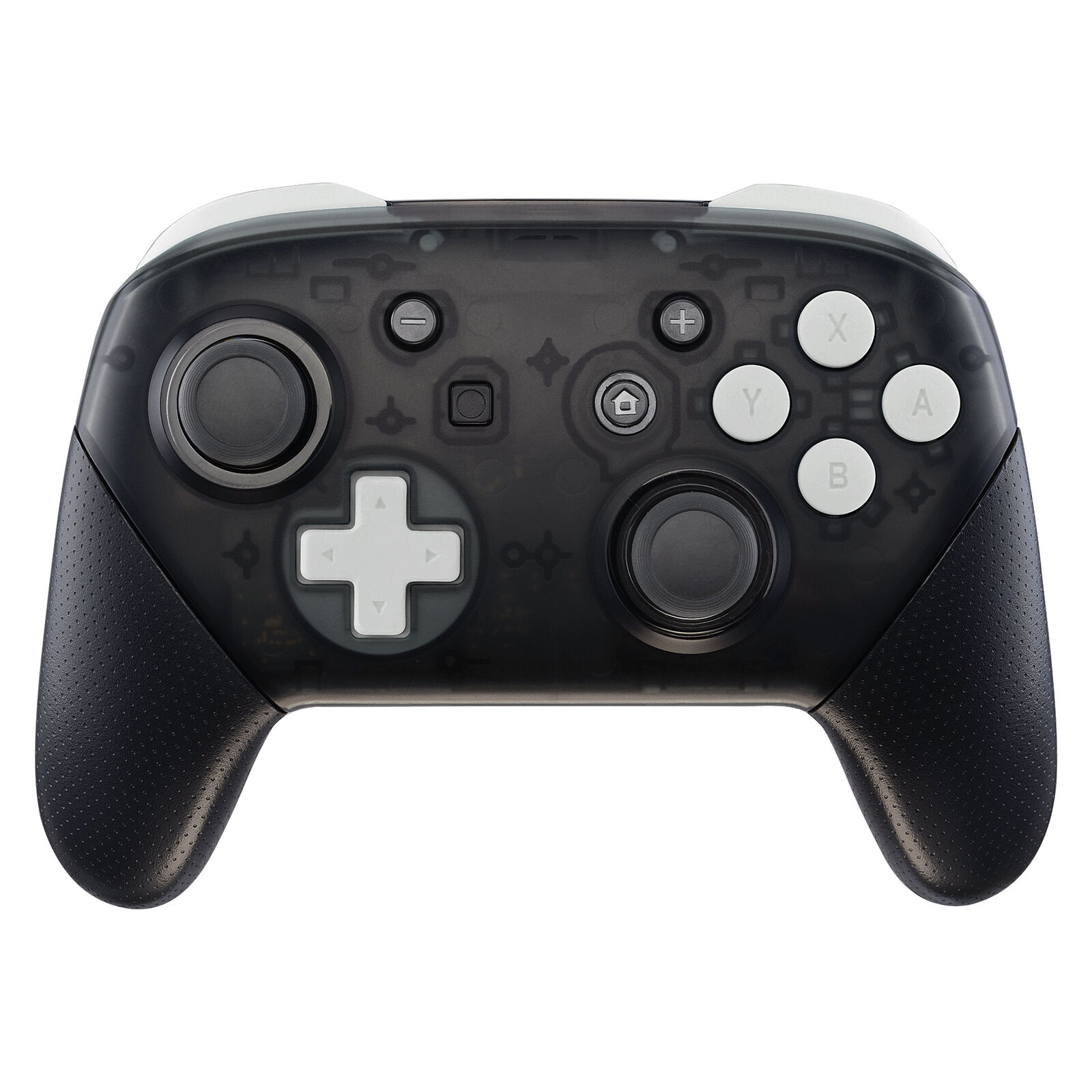 Nintendo Switch Pro Controller Black and White Buttons