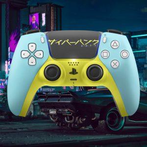 Cyberpunk Playstation 5 Controller