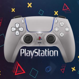Retro Playstation 5 Controller